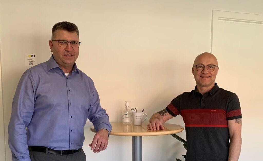 Flemming Schultz og René Østergaard Jensen